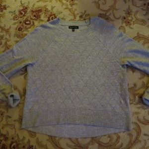 Banana Republic quilted crew sweater XL
